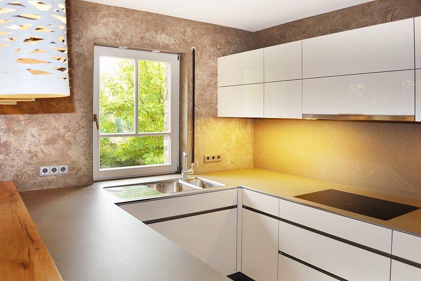 Bad und k chengestaltung malerfachbetrieb taktec - Kuchengestaltung wand ...